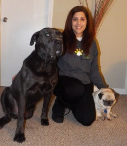 Sublime K9 - #1 Recommended Dog Trainer on Long Island - About Us - Jessica Freedman and her two dogs.